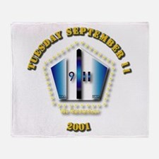 Emblem - 9-11 Throw Blanket
