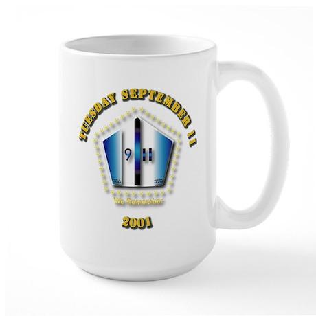 Emblem - 9-11 Large Mug