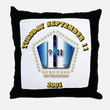 Emblem - 9-11 Throw Pillow