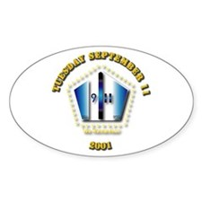 Emblem - 9-11 Decal