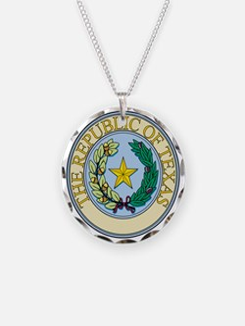 Republic of Texas Seal Necklace