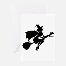 Isolated Witch Greeting Cards (Pk of 10)