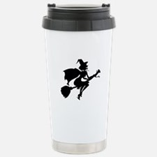 Isolated Witch Travel Mug