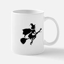 Isolated Witch Mug
