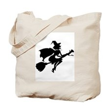 Isolated Witch Tote Bag