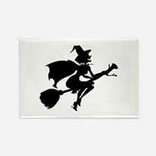 Isolated Witch Rectangle Magnet (100 pack)