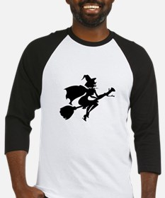 Isolated Witch Baseball Jersey
