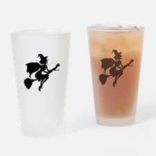 Isolated Witch Drinking Glass