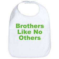 Brothers Like No Others Bib