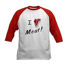 I heart meat, steak, paleo, low carb Tee
