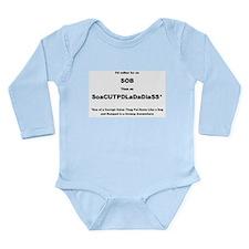 Jimmy Hoffa Jr. Long Sleeve Infant Bodysuit