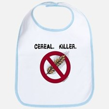 Cereal. Killer. with wheat, gluten free Bib