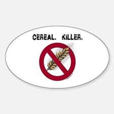 Cereal. Killer. with wheat, gluten free Decal
