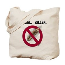 Cereal. Killer. with wheat, gluten free Tote Bag