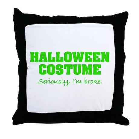 Halloween costume Throw Pillow