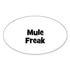 Mule Freak Oval Decal