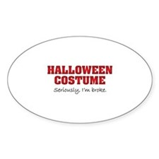 Halloween costume Decal