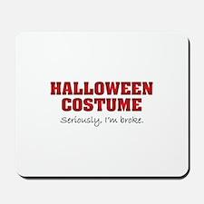 Halloween costume Mousepad