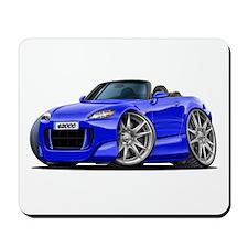 s2000 Blue Car Mousepad