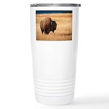 Unique Bison Travel Mug