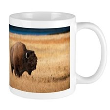 Cute Yellowstone buffalo Mug