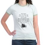 Wigner's Friend Limerick Jr. Ringer T-Shirt