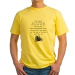Wigner's Friend Limerick Yellow T-Shirt