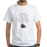 Wigner's Friend Limerick White T-Shirt