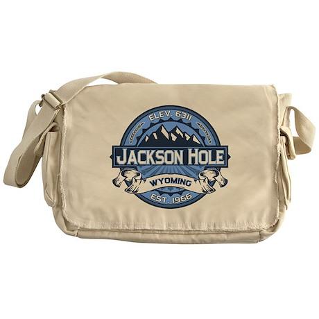 Jackson Hole Blue Messenger Bag