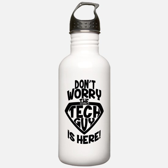Don't Worry Tech G Water Bottle