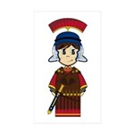 Cute Roman Soldier Sticker (10 Pk)