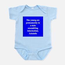 Wisdom of Aristotle Infant Bodysuit