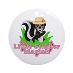 Little Stinker Mariah Ornament (Round)