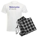 Motorcycles I like this. Men's Light Pajamas