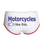 Motorcycles I like this. Women's Boy Brief