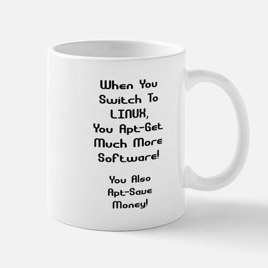 Linux Apt-Save Money Mug
