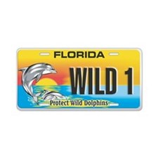 Cool Specialty Aluminum License Plate