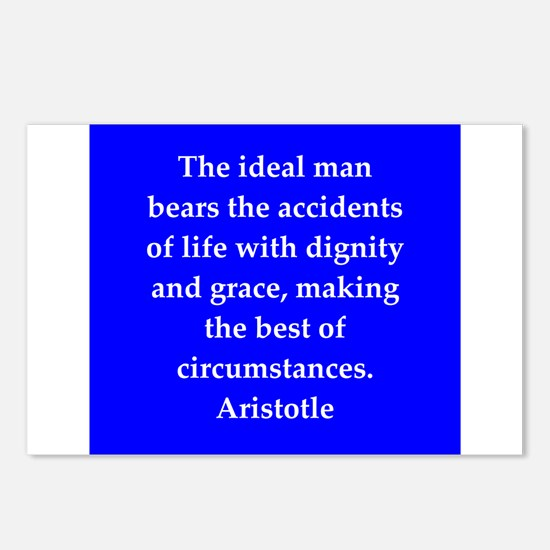 Wisdom of Aristotle Postcards (Package of 8)