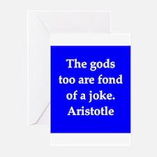 Wisdom of Aristotle Greeting Cards (Pk of 20)