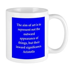 Wisdom of Aristotle Small Mug