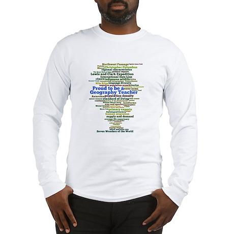 Geography Teacher's Long Sleeve T-Shirt