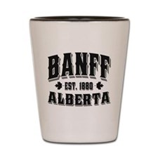 Banff Old Style Black Shot Glass
