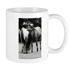 pONY lOVE bLACK AND WHITE Mug