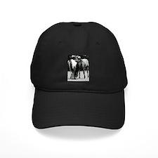 pONY lOVE bLACK AND WHITE Baseball Hat