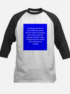 Wisdom of Aristotle Kids Baseball Jersey