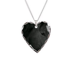 bLACK AND WHITE pHILLY Necklace