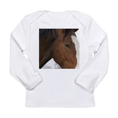 pRANCER Long Sleeve Infant T-Shirt