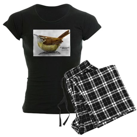 Carolina Wren Women's Dark Pajamas