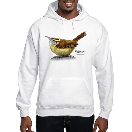 Carolina Wren Hooded Sweatshirt