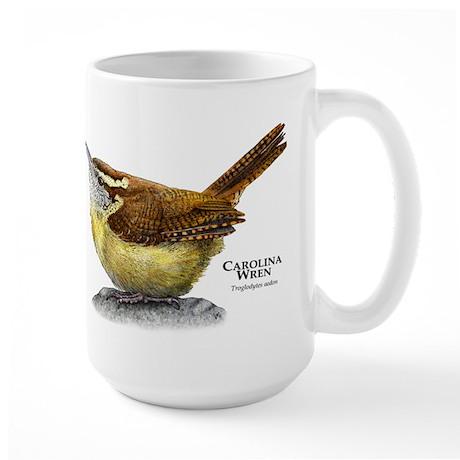 Carolina Wren Large Mug